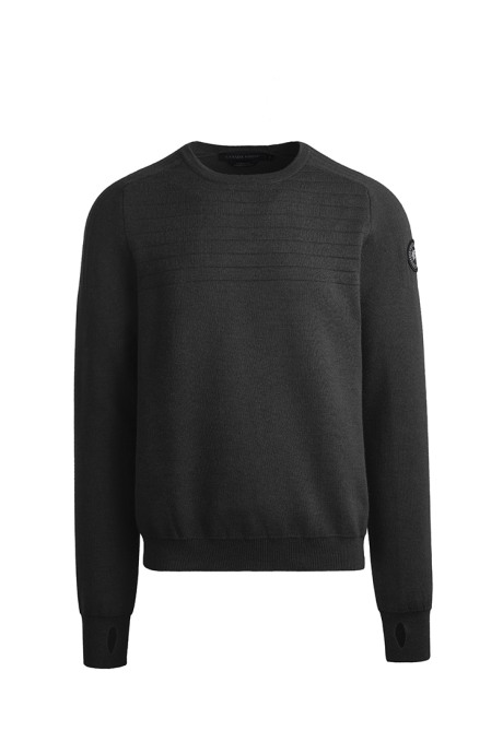 Shop the men's Conway Crew Neck Sweater Black Label