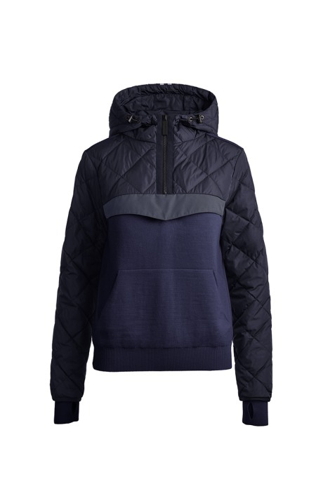 Shop the women's HyBridge Knit Anorak Black Label