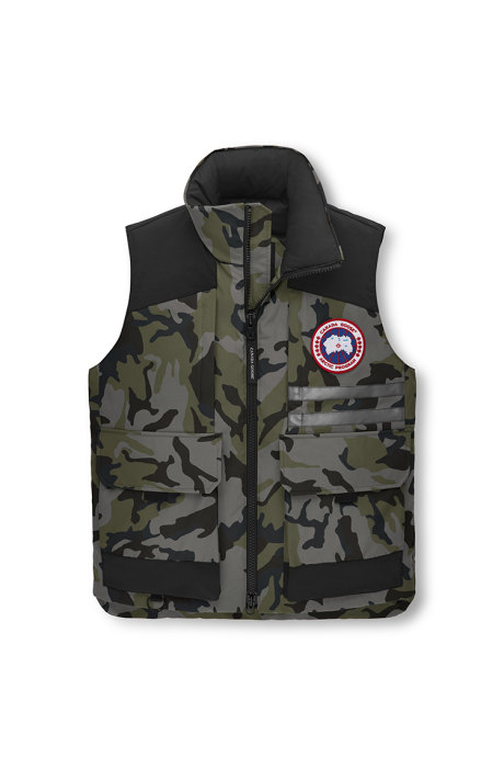 Shop the men's Duncan Vest Print