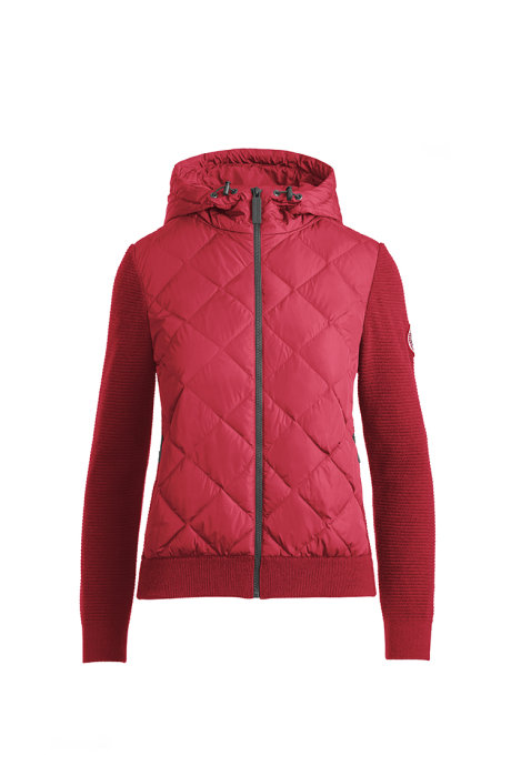 Shop the women's HyBridge Quilted Knit Hoody