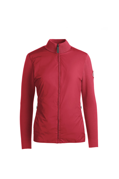 Shop the women's WindBridge Full Zip Sweater