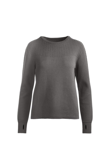Shop the women's Elmvale Crew Neck Sweater Black Label