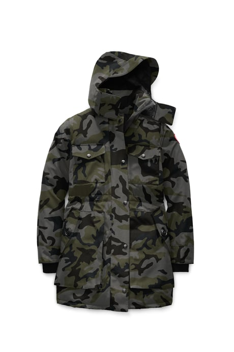 Shop the women's Gabriola Parka Print