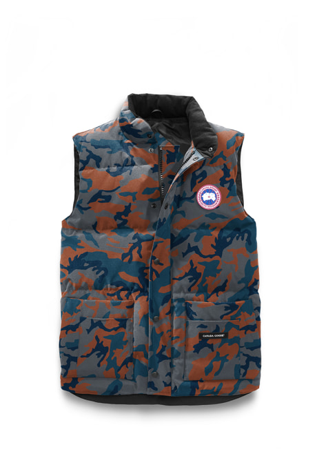 Shop the men's Freestyle Crew Vest Print