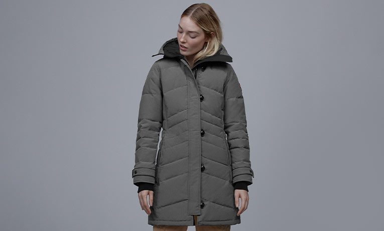 Canada Goose Women Shop - Navy Alliston Down Puffer Jacket