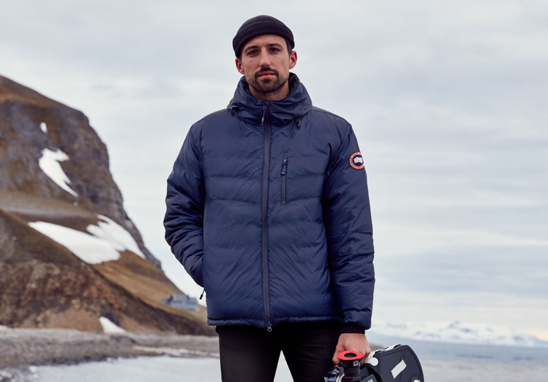 Director Janssen Powers wears the Lodge Hoody