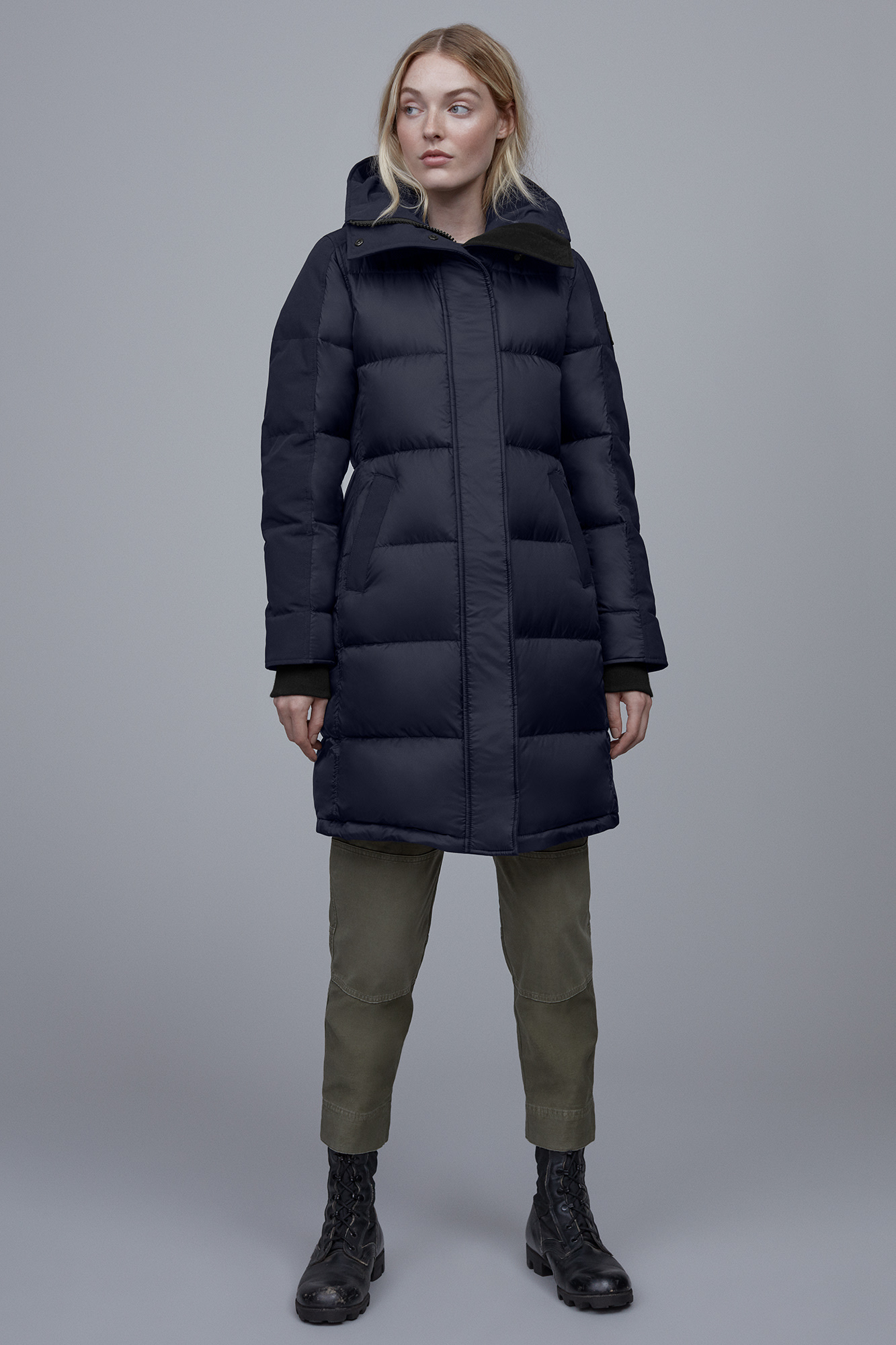 Women S Rowley Parka Black Label Canada Goose 174