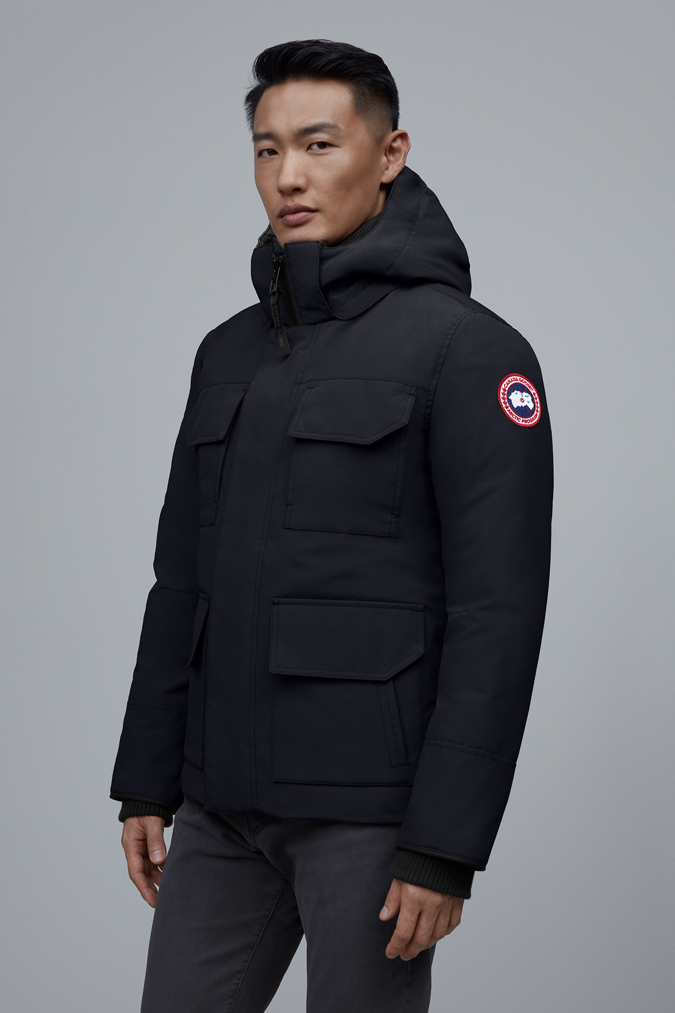 Classic Website Canada Goose Maitland Down Parka Mens Black 7K6I