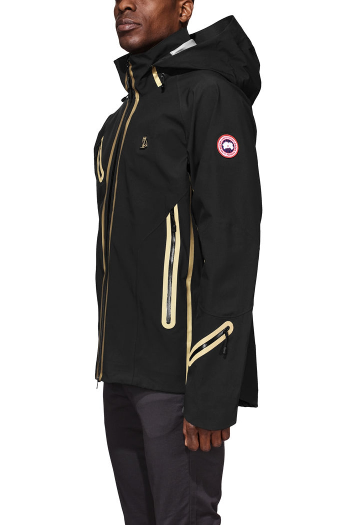 timber shell x ovo men canada goose