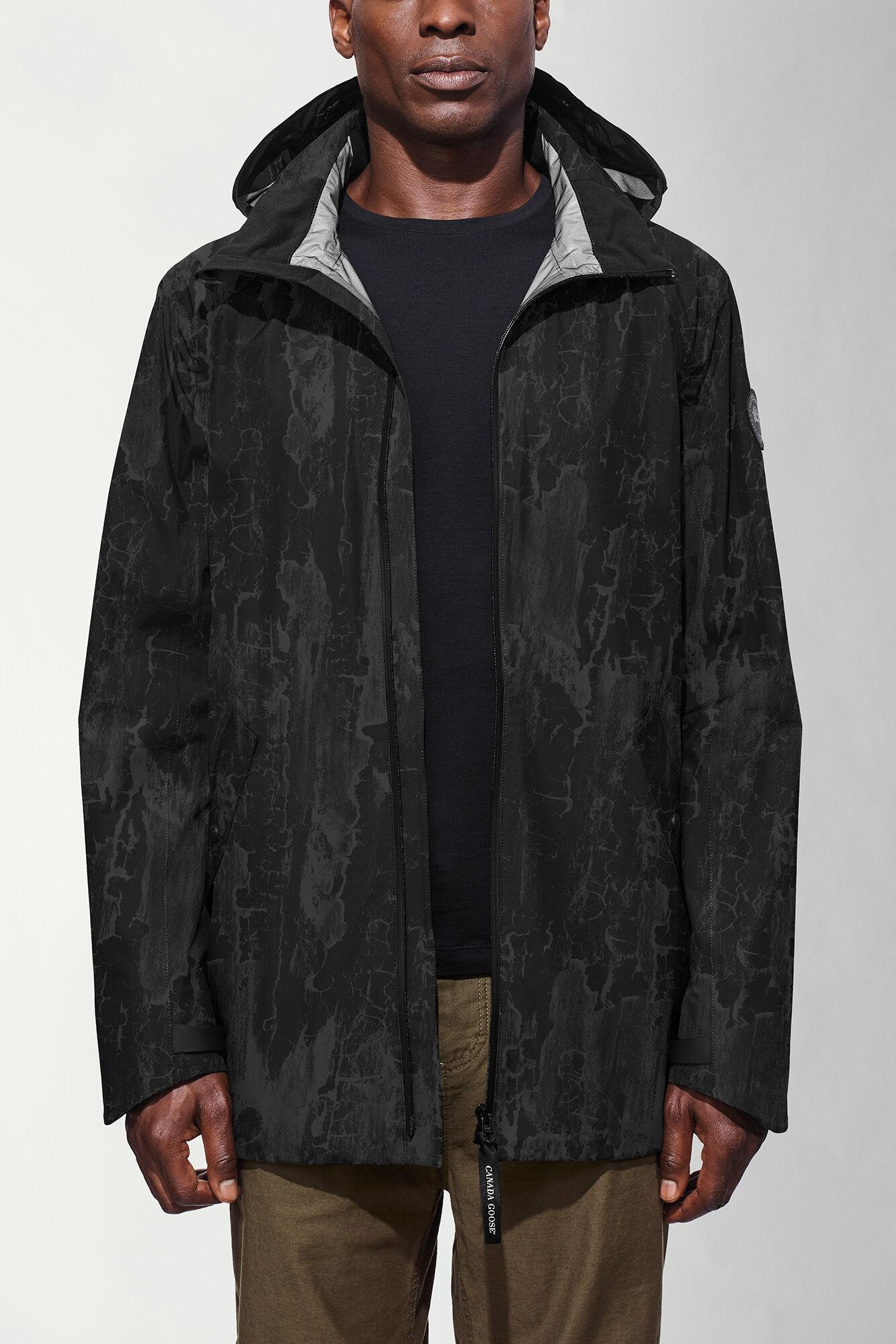 men 39 s riverhead jacket black label canada goose. Black Bedroom Furniture Sets. Home Design Ideas