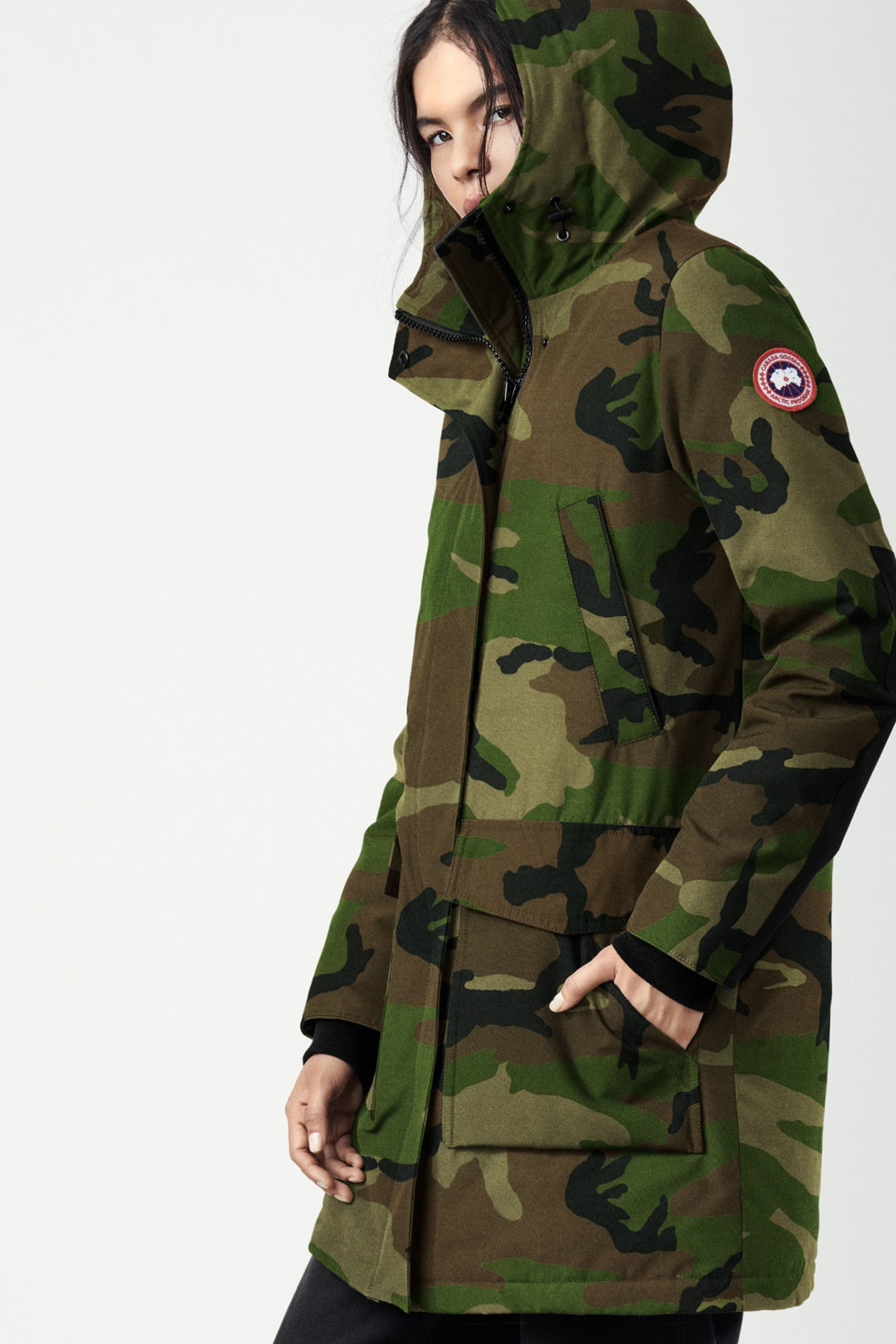 Womens Canmore Parka  Canada Goose-4288