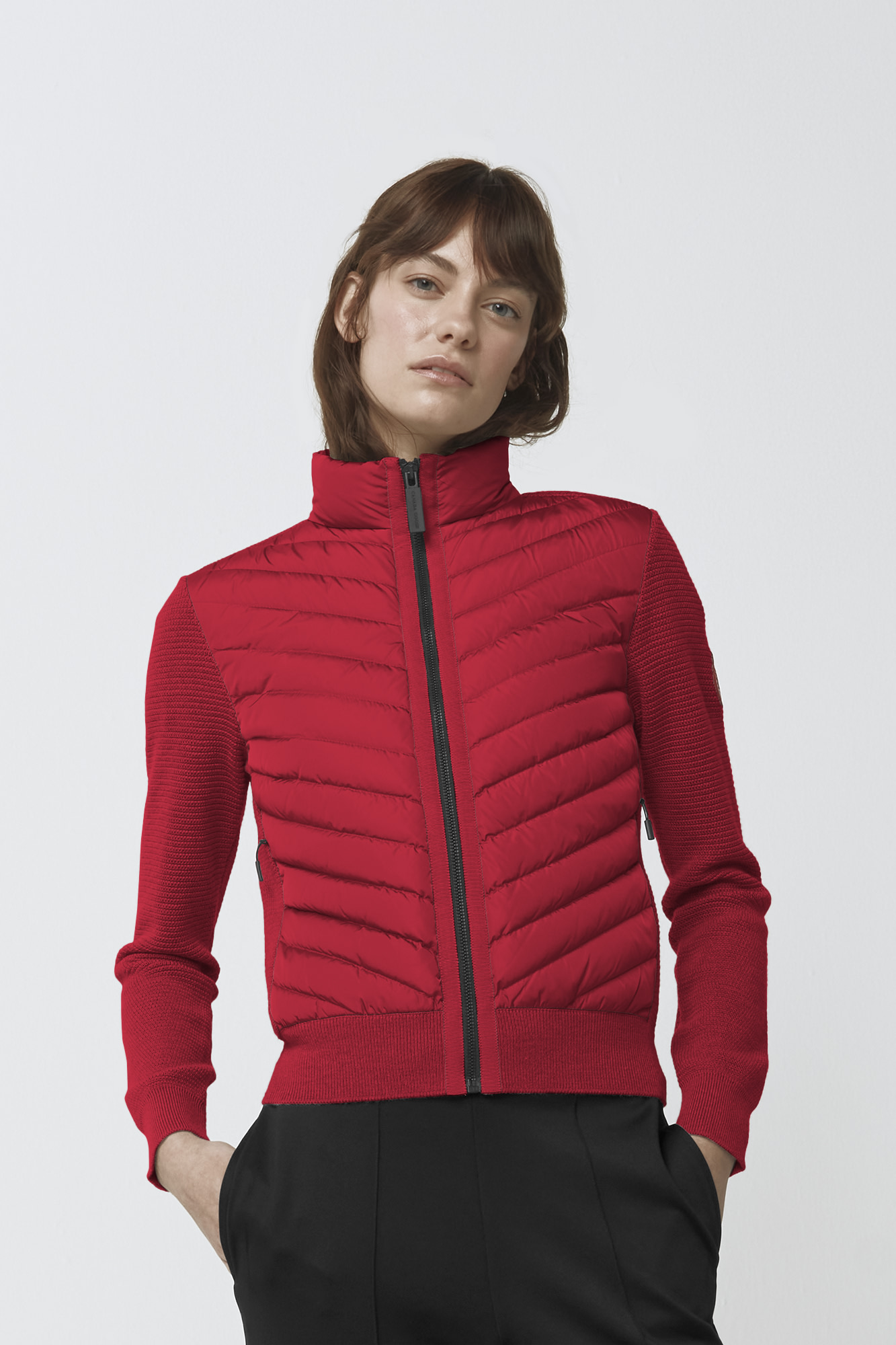 Women S Hybridge Knit Jacket Canada Goose 174