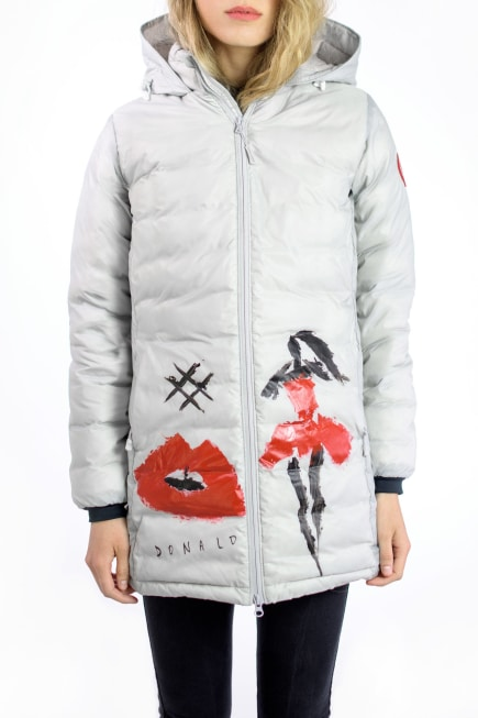 Donald Robertson Camp Hooded Jacket