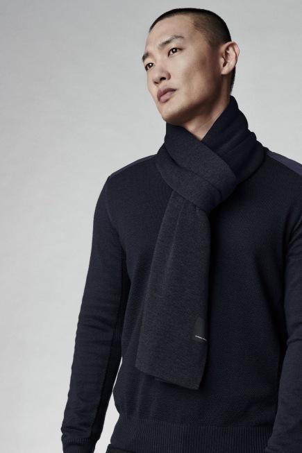 Écharpe classique en laine mérinos