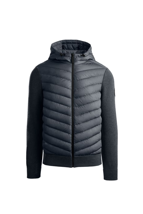 Blouson à capuche en tricot HyBridge Black Label (H)