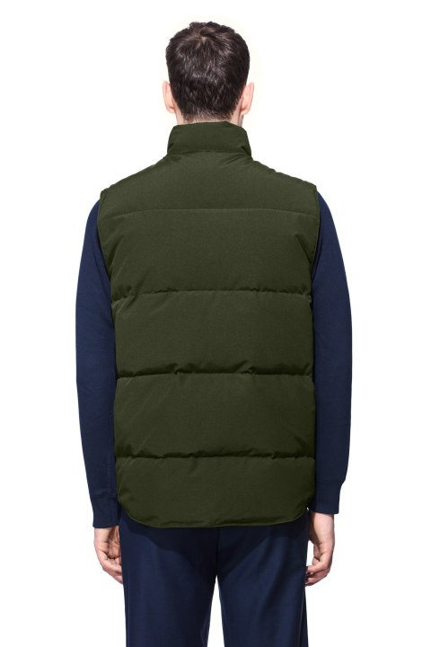 Men's Freestyle Crew Vest Black Label | Canada Goose