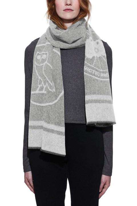 Women's Logo Blanket Scarf x OVO   Canada Goose