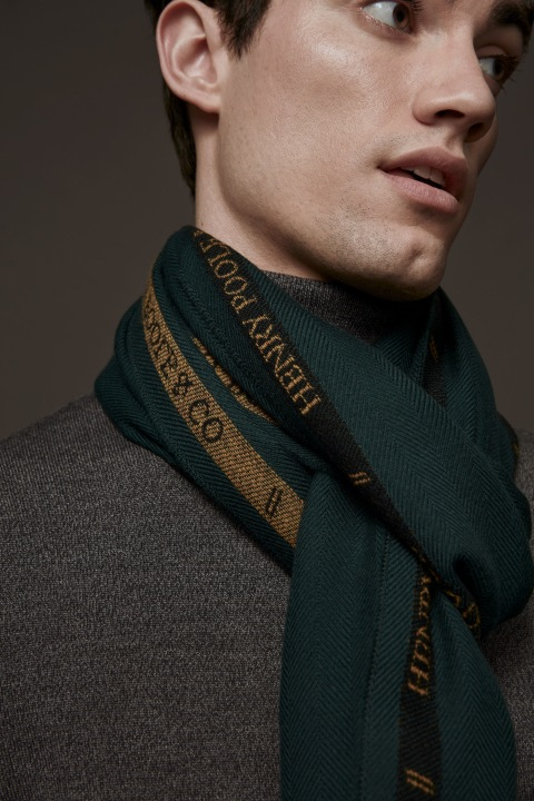 Woven Selvedge Scarf x Henry Poole | Canada Goose