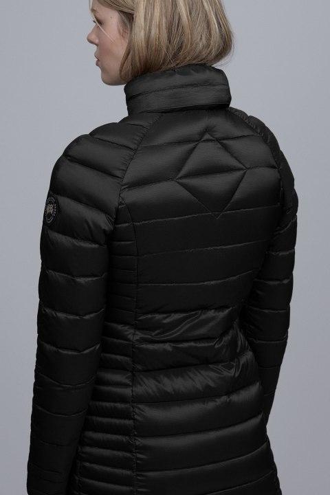 Brookvale Hooded Mantel Black Label | Canada Goose