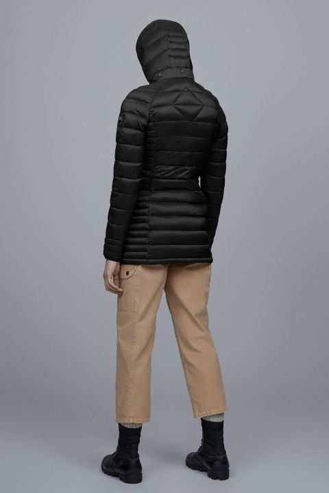 Women's Brookvale Hooded Coat Black Label | Canada Goose