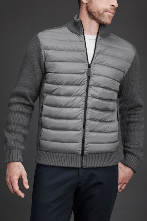 Men's HyBridge Knit Jacket   Canada Goose