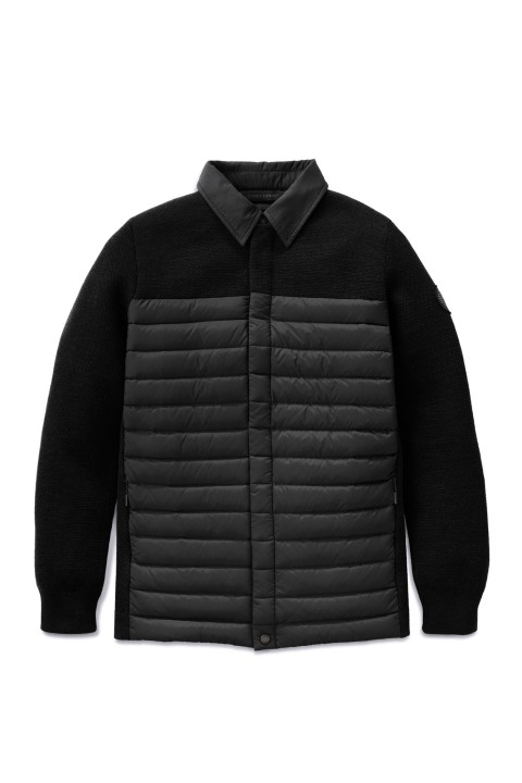 Men's HyBridge Knit Shirt Black Label | Canada Goose