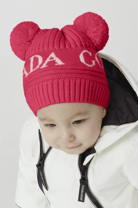 Baby Double Pom Hat | Canada Goose