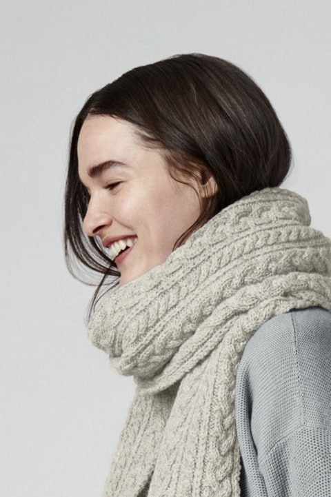 Women's Chunky Wool Scarf | Canada Goose