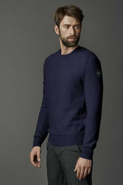 Men's Rutledge Crew Neck Sweater Black Label | Canada Goose