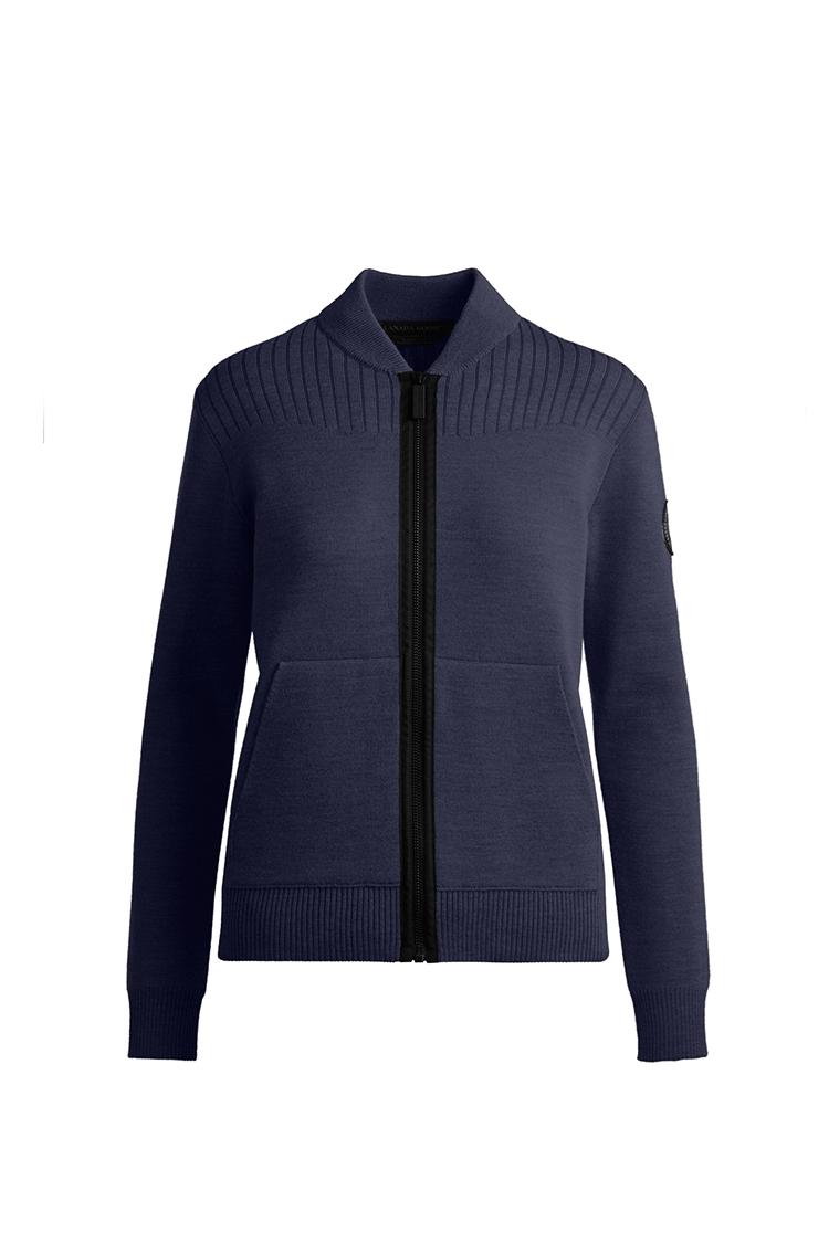 Kaufen Sie das Damen Lennox Knit Bomber Black Label