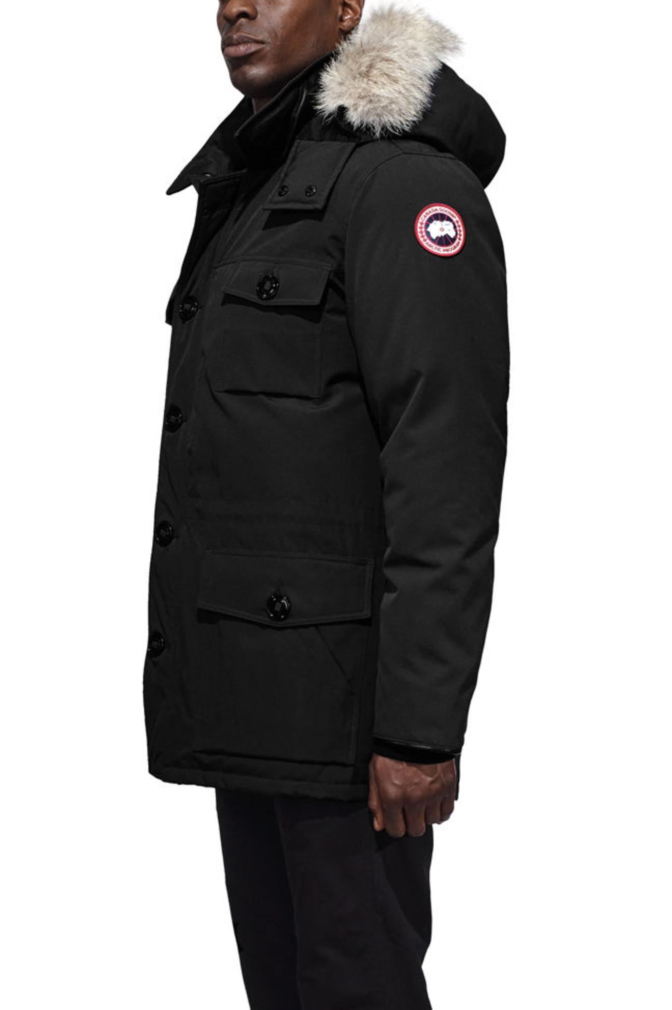 Canada Goose Banff Parka Coat Canada Goose Citadel Parka Graphite Men