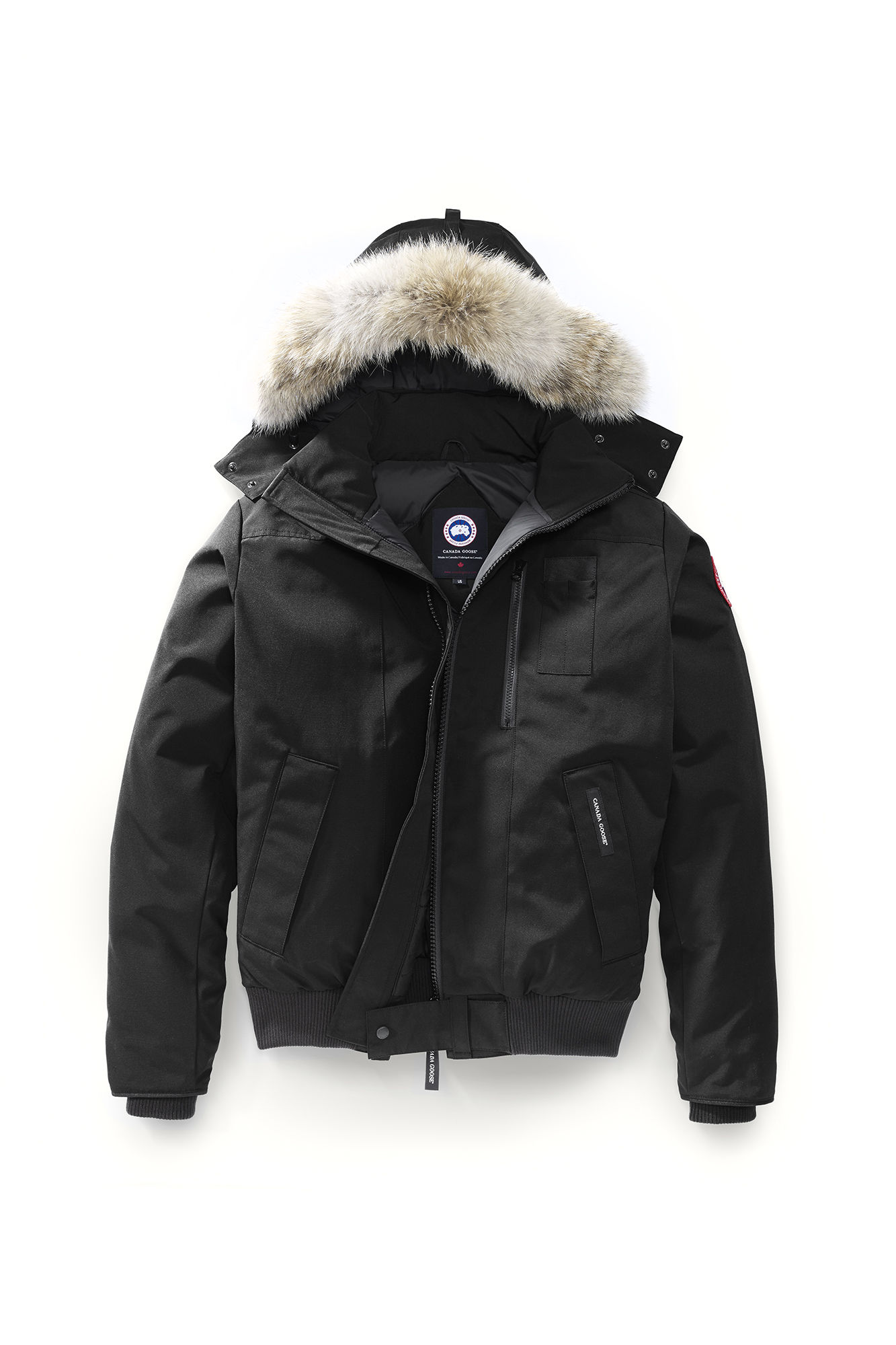 Authentic Canada Goose Yorkville Bomber Homme Brown,the