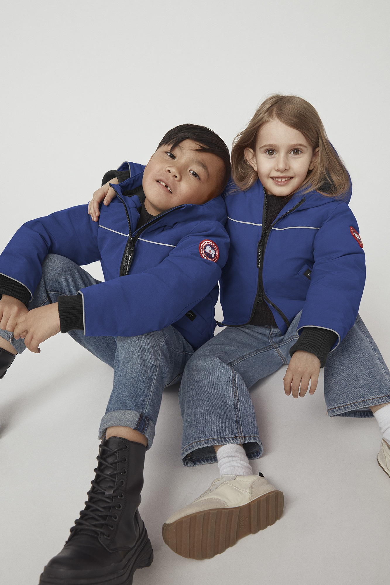 Kids Grizzly down bomber jacket