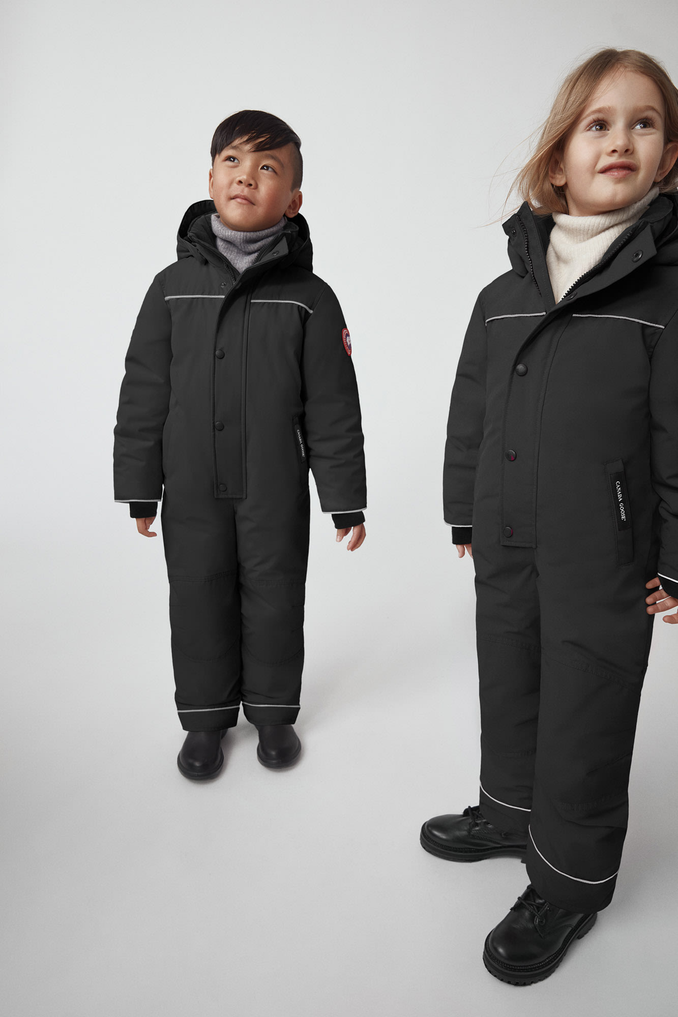 A Christmas Story Kid In Snowsuit.Grizzly Snowsuit