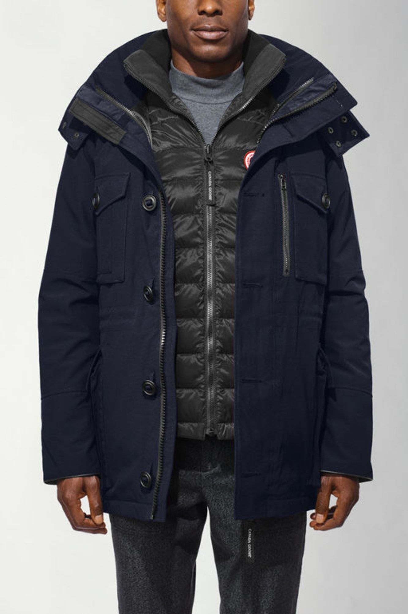 Canada Goose Men's Squall Jacket 3 in 1 Waterproof Navy