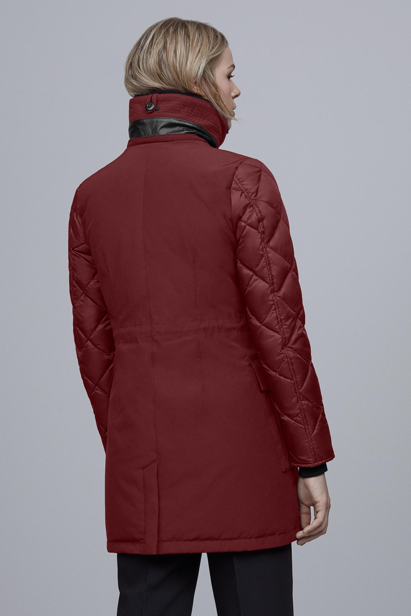 245d61c85e7 Women's Elwin Parka Black Label | Canada Goose®