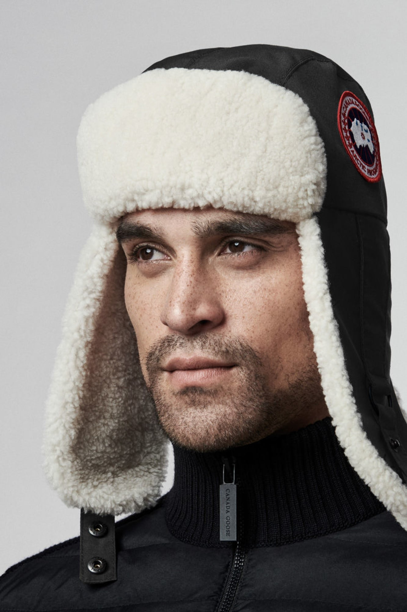 ebde7be9b237d1 Men's Shearling Aviator Hat | Canada Goose®