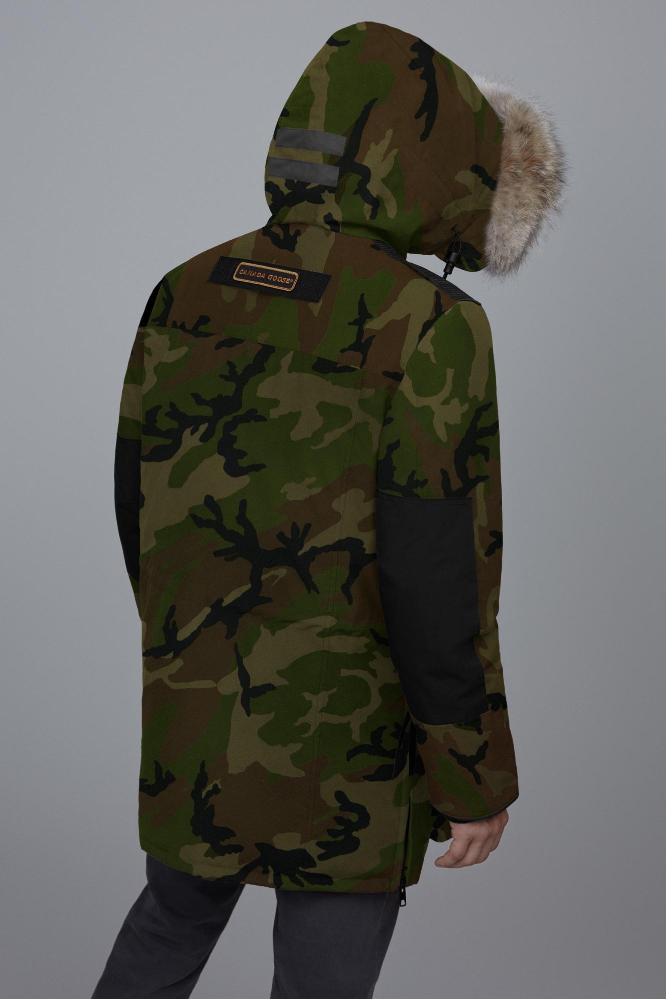 CANADA GOOSE DAUNENJACKE Parka Größe:L Camouflage mit Echt