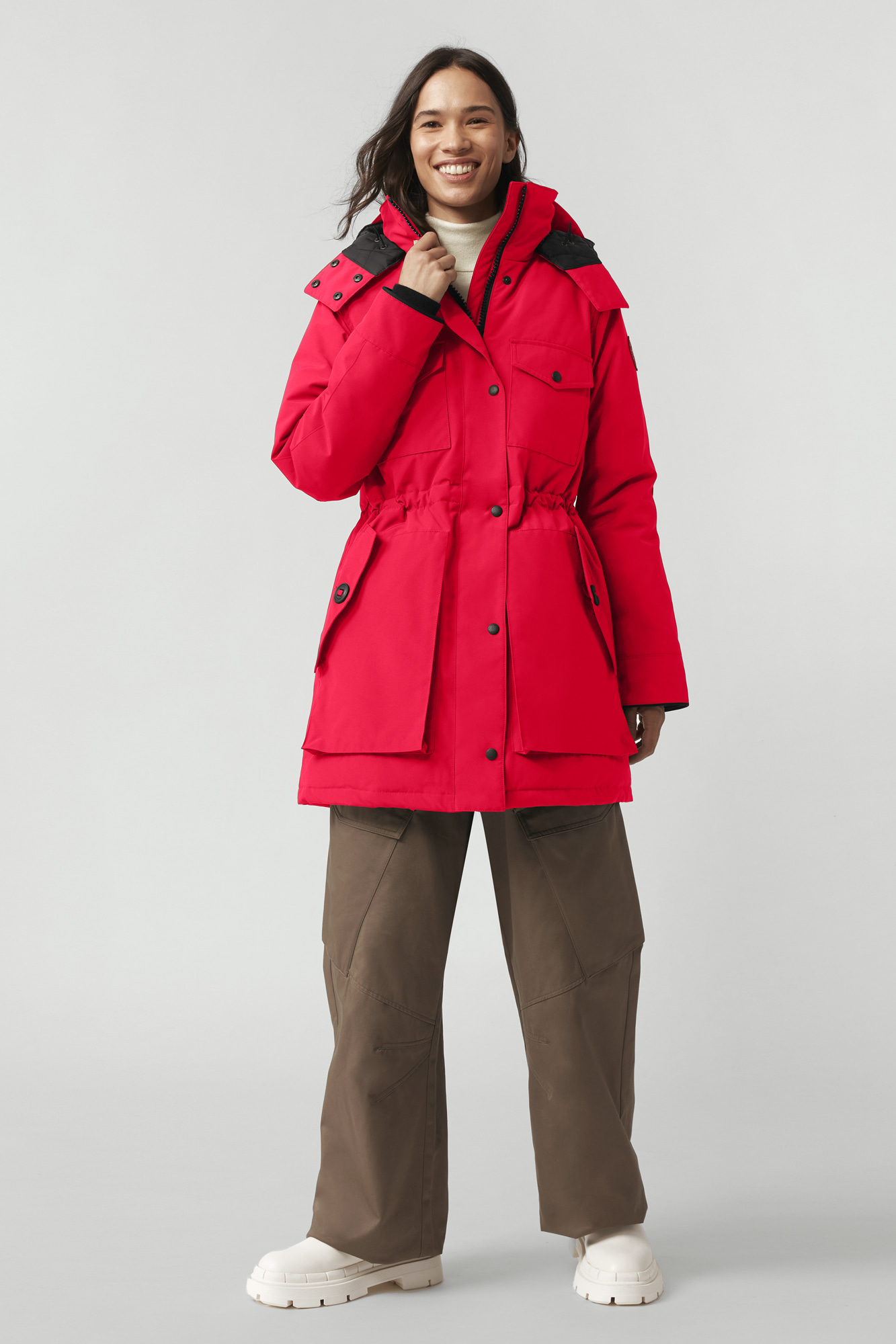 Red Parka For Women