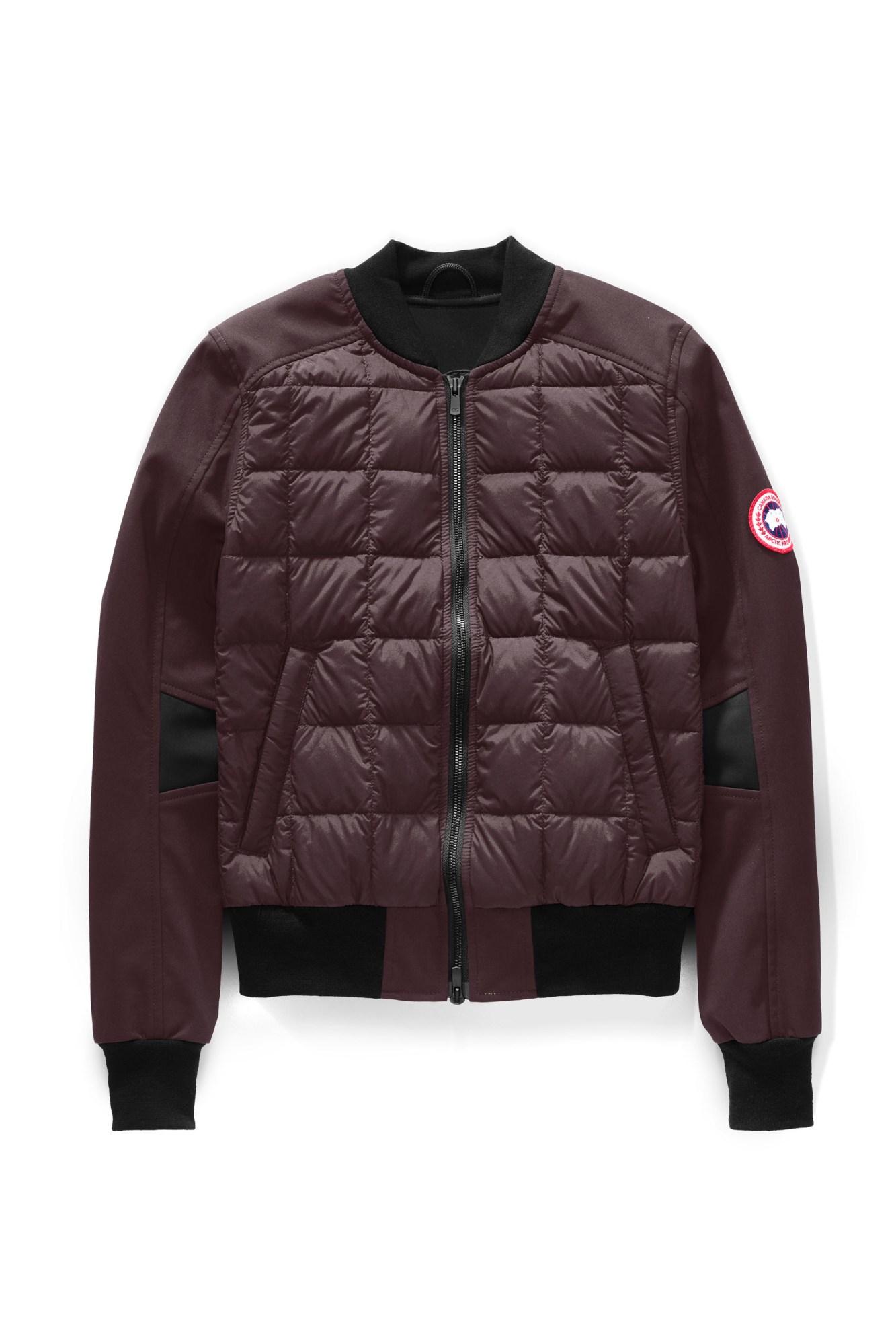 canada goose bomber jacket