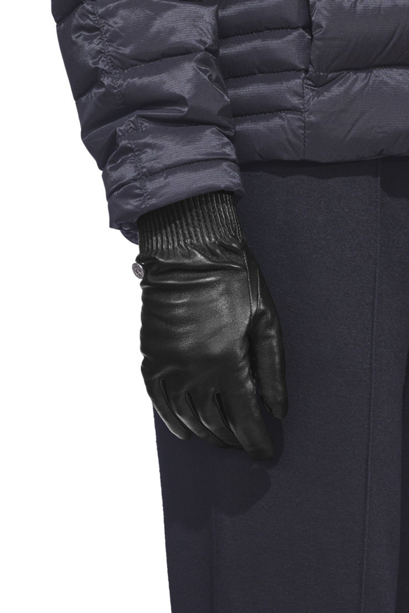 ace3b86d1 Women's Leather Rib Gloves | Canada Goose®