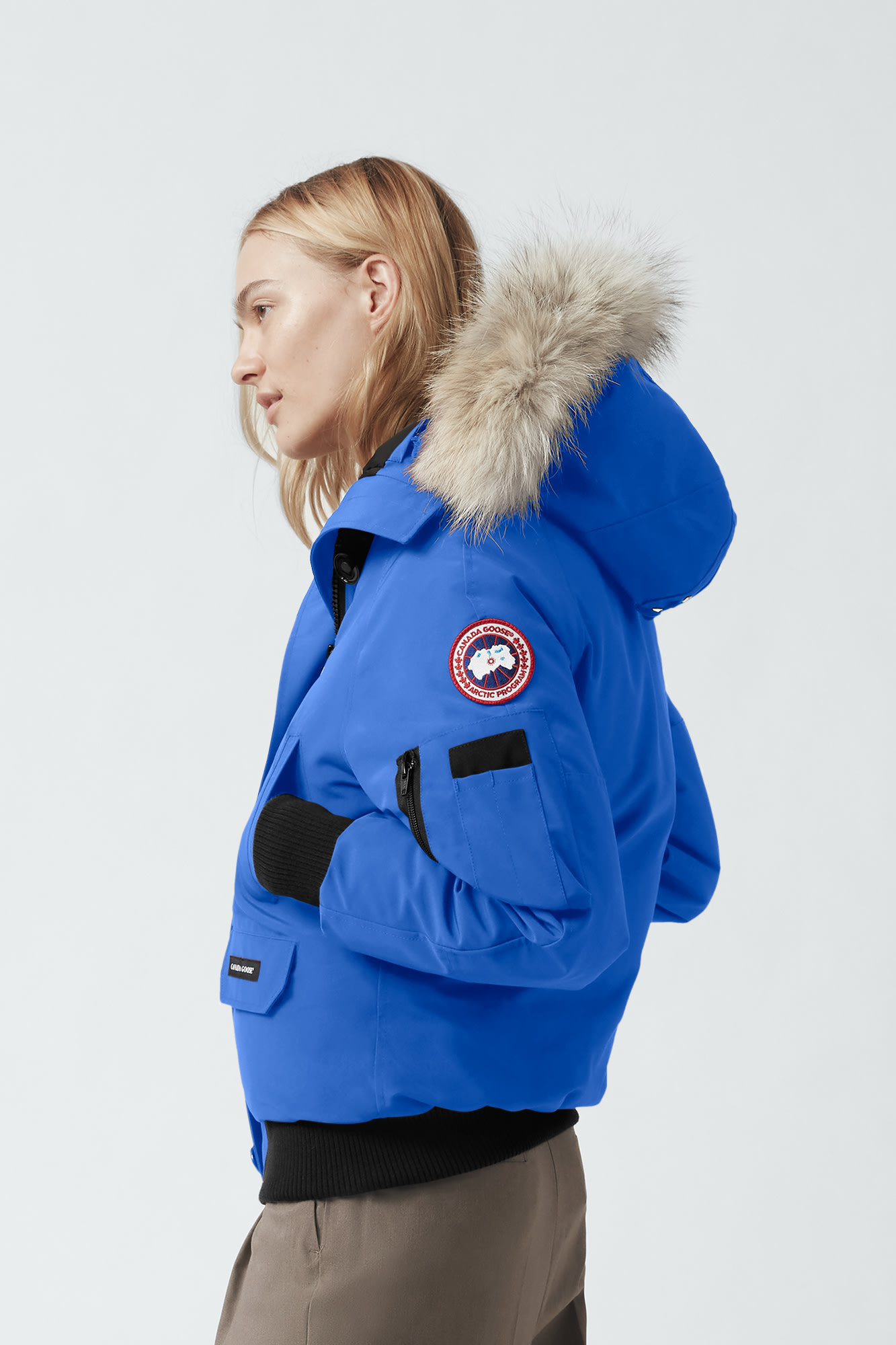 Canada Goose Polar Bear International Expedition Chilliwack Bomber Women's