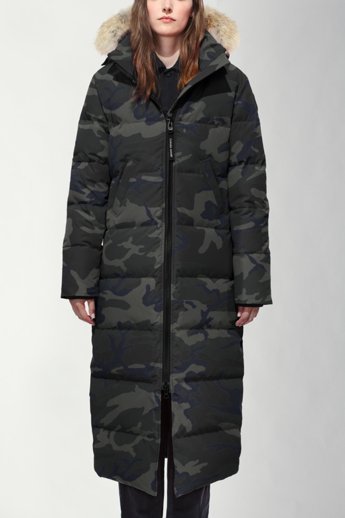 Canada Goose Mystique Parka Black Women Down Jacket