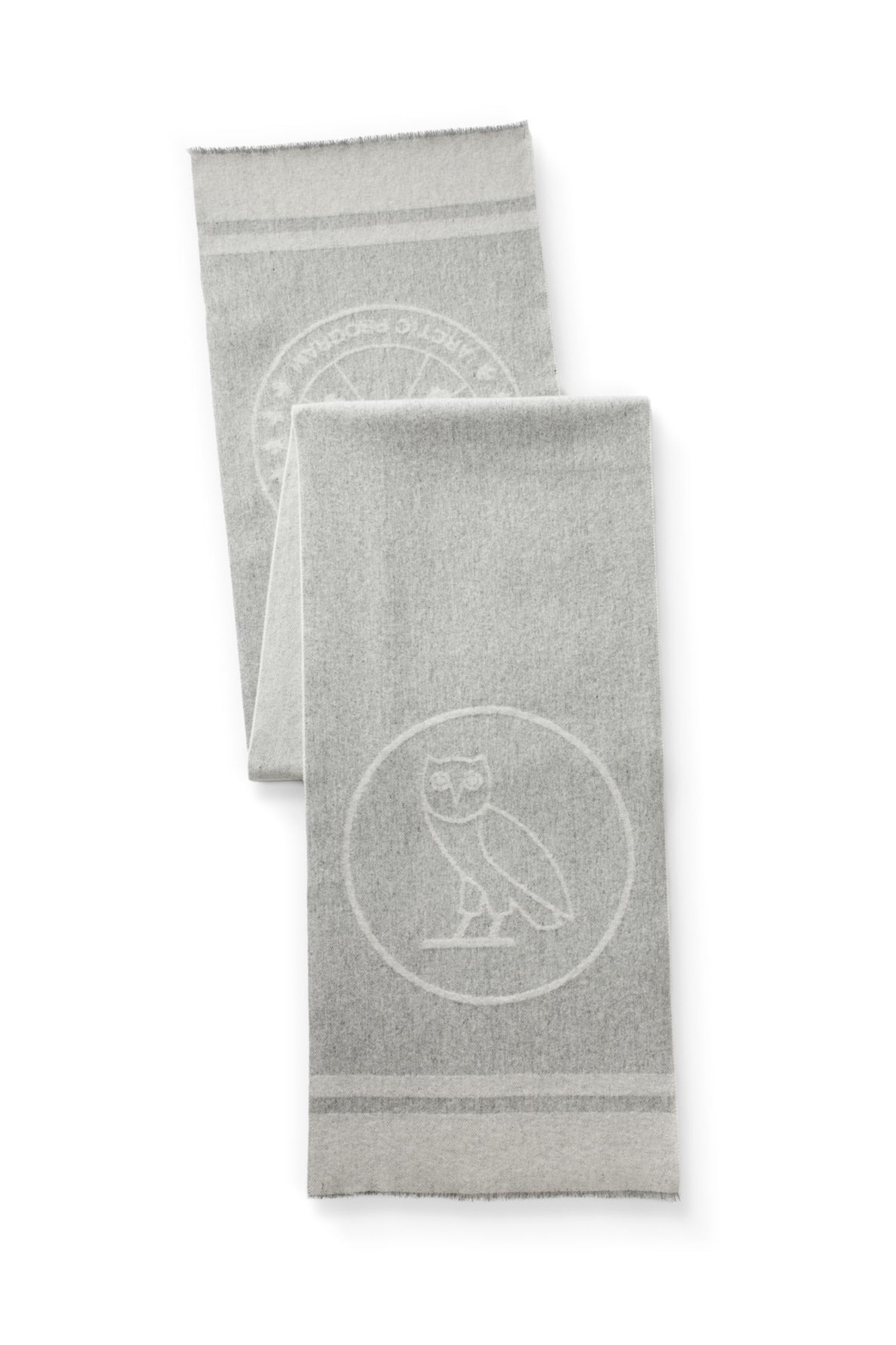 7b10984d6bd78 Women's Logo Blanket Scarf x OVO | Canada Goose®