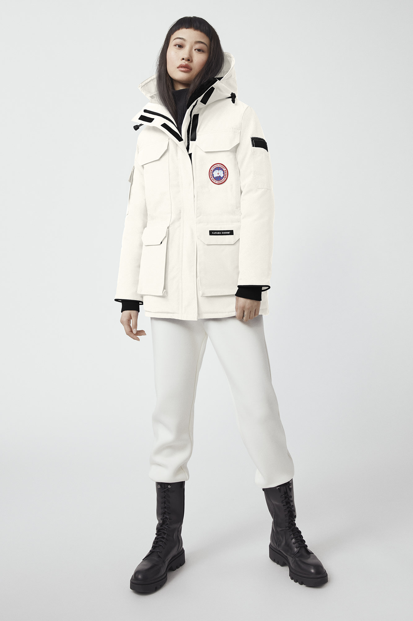 Canada Goose Parka Review Canada Goose Women Expedition Parka Fusion Fit Black
