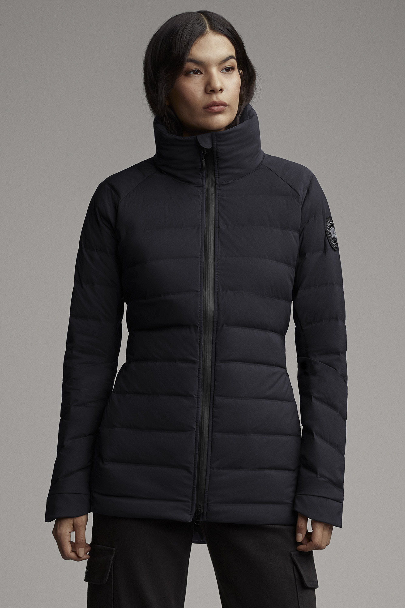 Women's HyBridge CW Down Jacket Black Label