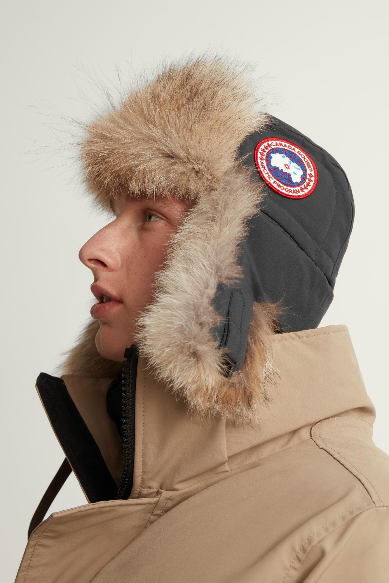 canada goose aviator hat size