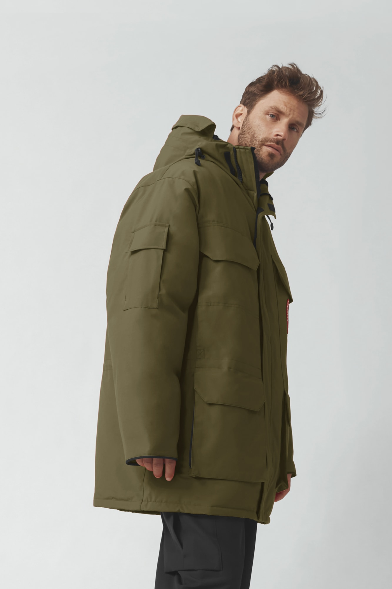 SALE £10 MENS BLACK MILITARY STYLE UTILITY COAT JACKET RRP £49 NOW ONLY £10