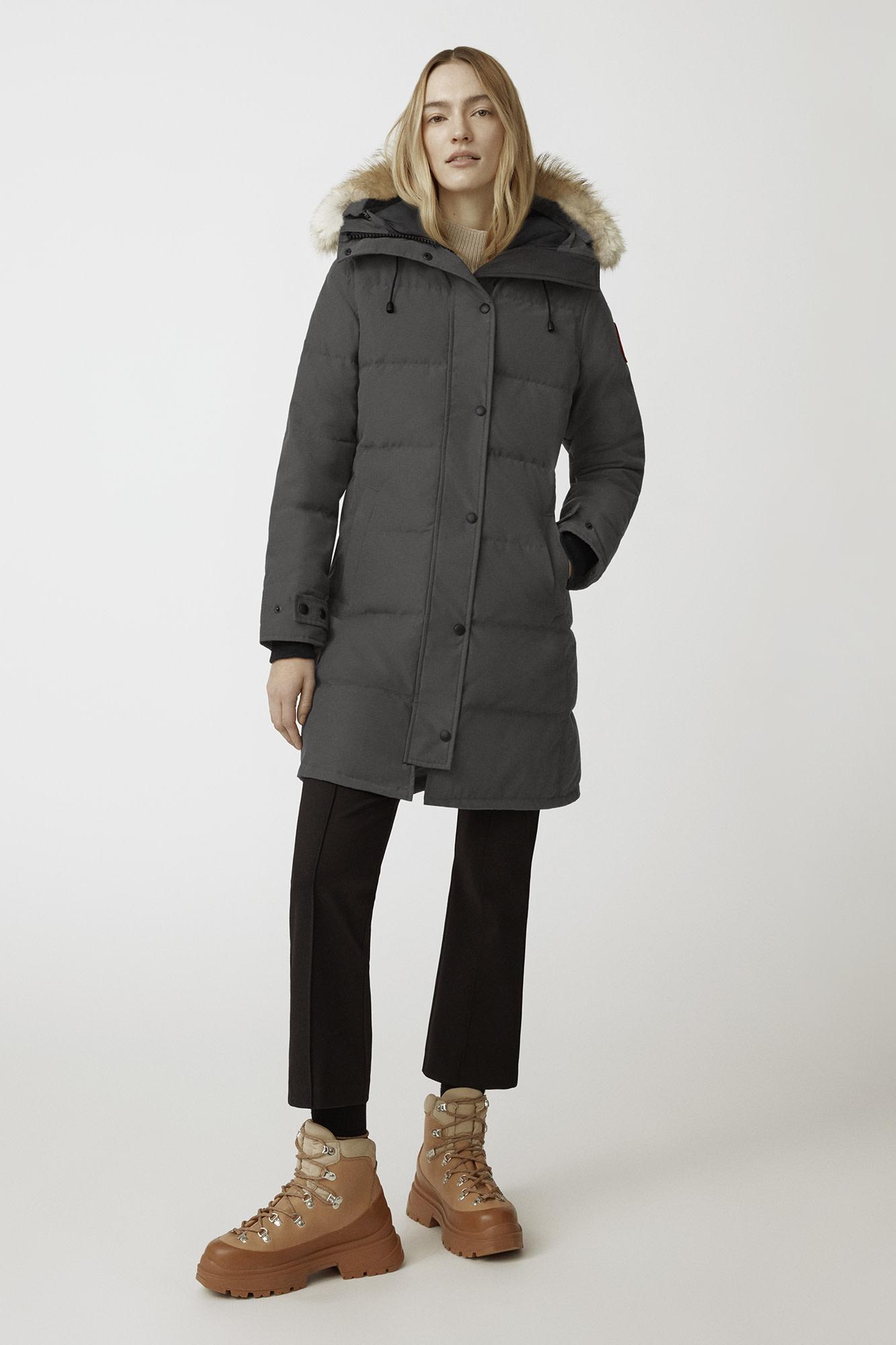 Canada Goose 加拿大鹅 Shelburne 女式派克大衣羽绒服 3802L XS码 8.1折$809.7 海淘转运到手约¥5385 天猫¥9100
