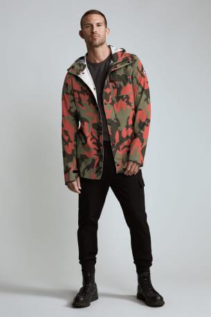 Men's Nanaimo Rain Jacket Print